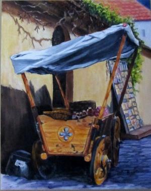 Tallin Vender Cart
